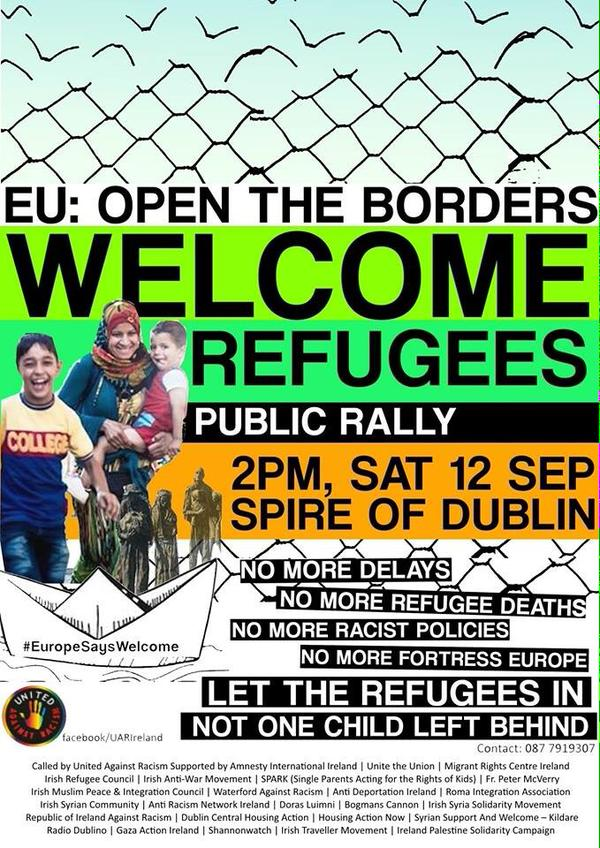 RefugeesWelcomeDublin