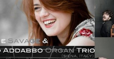 Suzanne Savage The Matteo Addabbo Organ Trio -