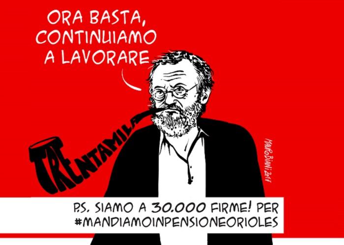 Riccardo Orioles Mauro Biani