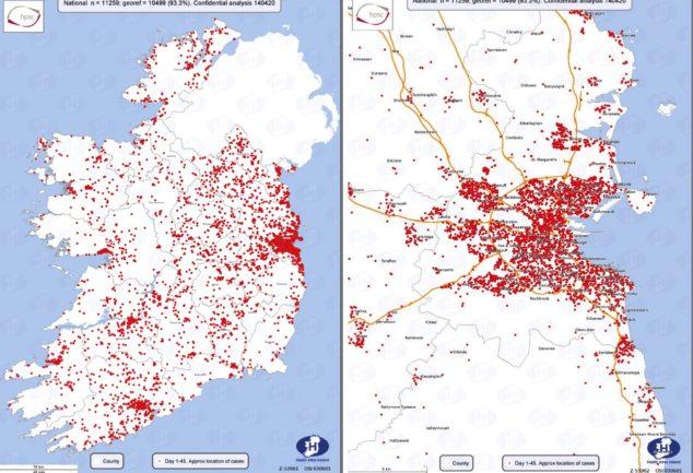 Coronavirus in Irlanda